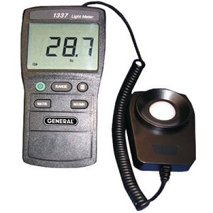 General Tools DLM1337 Handheld Light Meter with Big Display