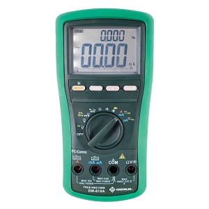 Greenlee DM-810A Handheld TRMS Digital Multimeter