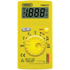 General Tools DMM333UL Digital Multimeter
