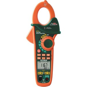 Extech EX623 TRMS Digital AC DC Clamp Meter with IR Thermometer