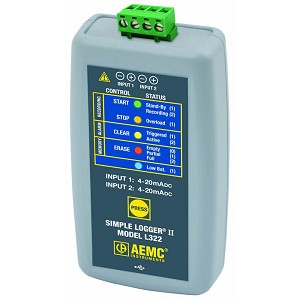 AEMC L322 Thermocouple Datalogger for 4 to 20mA