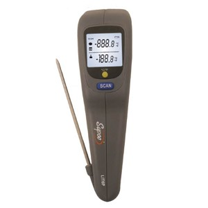 Supco LIT6P Dual Probe and Infrared Thermometer