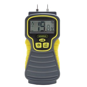 General Tools MMD4E Digital Pin Style Moisture Meter
