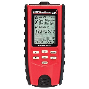 Platinum Tools T130 VDV MapMaster 3.0 Cable Tester with Cable Length Test