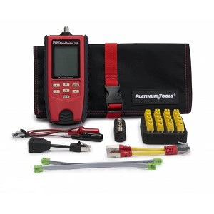 Platinum Tools T130K1 VDV MapMaster 3.0 Cable Tester with Cable Length Test