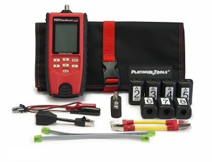 Platinum Tools T130K2 VDV MapMaster 3.0 Cable Tester PRO Kit with 2-8 Smart Remotes