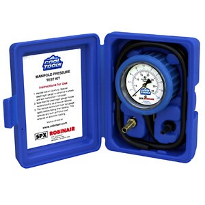 Robinair 42162 Manifold Gauge Kit for Gas Pressure Testing