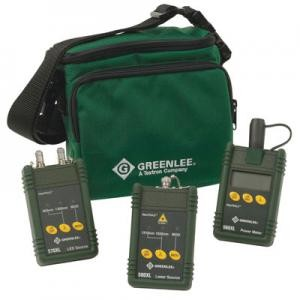 Greenlee 5890-ST MM SM Fiber Cable Tester with ST Connector
