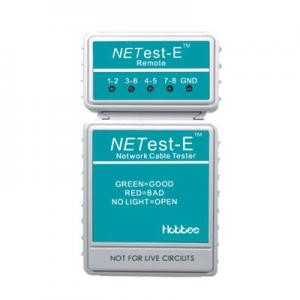 Hobbes E-400 NETest-E LAN Network Cable Continuity Tester