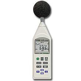 Extech 407780-NIST Integrating Sound Level Meter with Datalogging