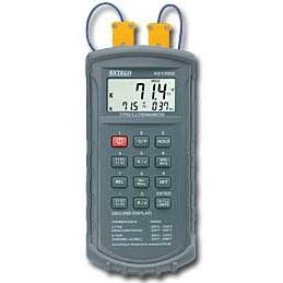 Extech 421502-NIST Digital J-Type or K-Type Dual Input Thermometer