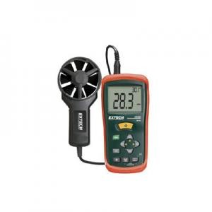 Extech AN100-NIST Digital CFM-CMM Thermo-Anemometer with Calibration