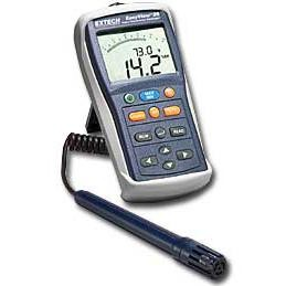 Extech EA20-NIST EasyView Calibrated Psychrometer with External Probe