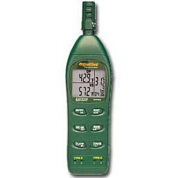 Extech RH350-NIST Calibrated Psychrometer Temperature and Humidity Meter