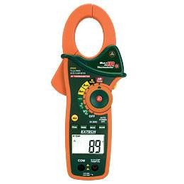 Extech EX840-NISTL TRMS Digital AC DC Clamp Meter with IR Thermometer