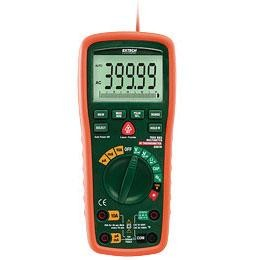 Extech EX570-NISTL Industrial TRMS MultiMeter with Infrared Thermometer