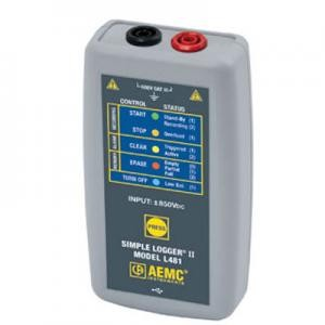 AEMC L481 Simple Logger II Datalogger for DC Voltage