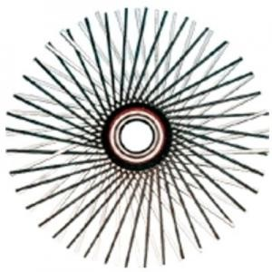 Wohler 1428 Chimney Cleaning Brush 26in Steel Flat Wire Star
