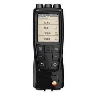Testo 480 Air Velocity and Environmental Conditions Tester