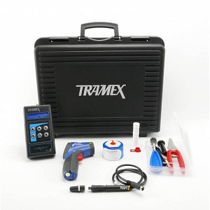 Tramex CIK5.1 Concrete Moisture Inspection Kit CMEX2 with RH Probes and Accessories