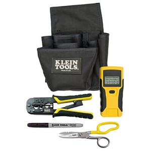 Klein Tools VDV026-812 Network Cable Installers Basic Kit