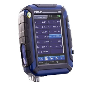 Wohler A 450 Combustion Analyzer Professional Set with Wireless 8390